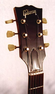 Gibson Nighthawk after repair. The same one from the top image.
